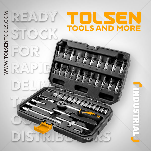 46PCS 1/4″ SOCKET SET