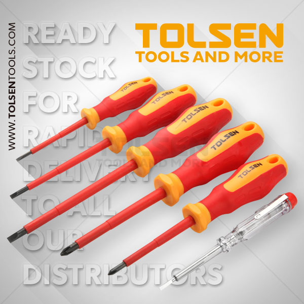 6PCS VDE SCREWDRIVER SET