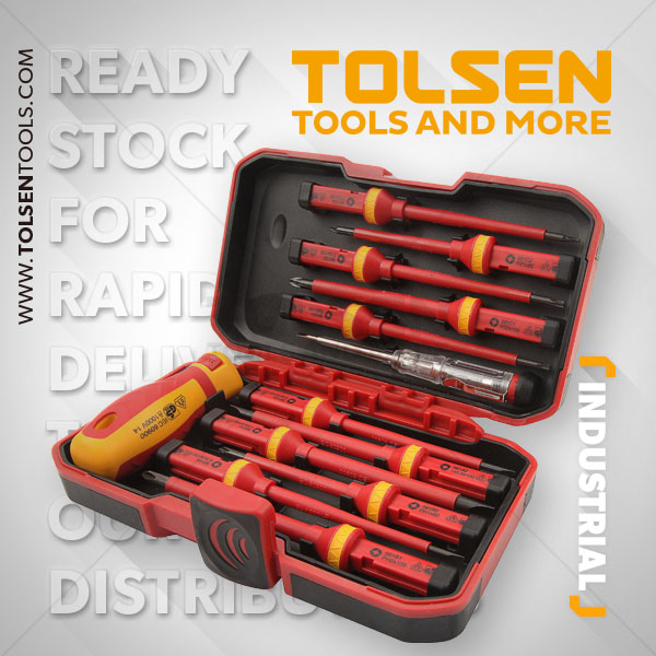 13PCS VDE INSULATED SCREWDRIVER SET