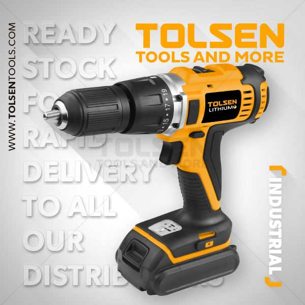 LI-ION CORDLESS DRILL WITH IMPACT FUNCTION