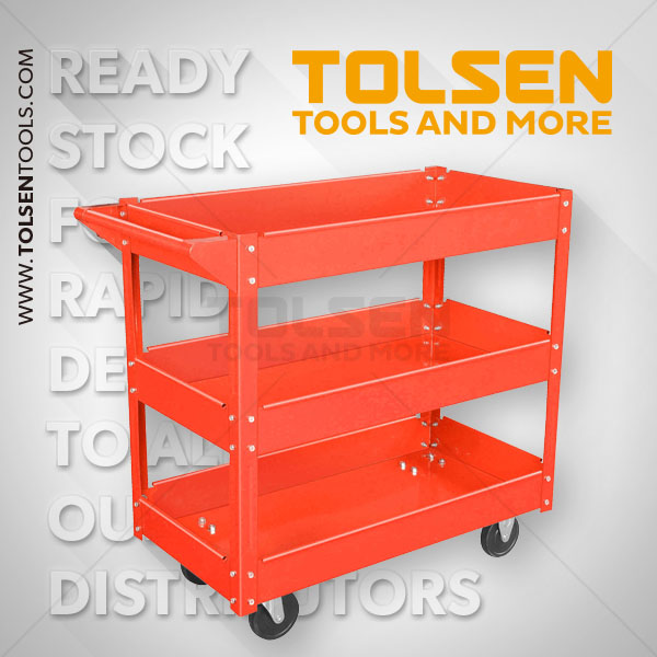 THREE TRAY TOOL CART