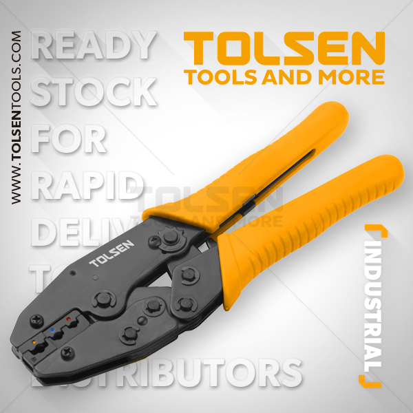 RATCHET CRIMPING PLIERS