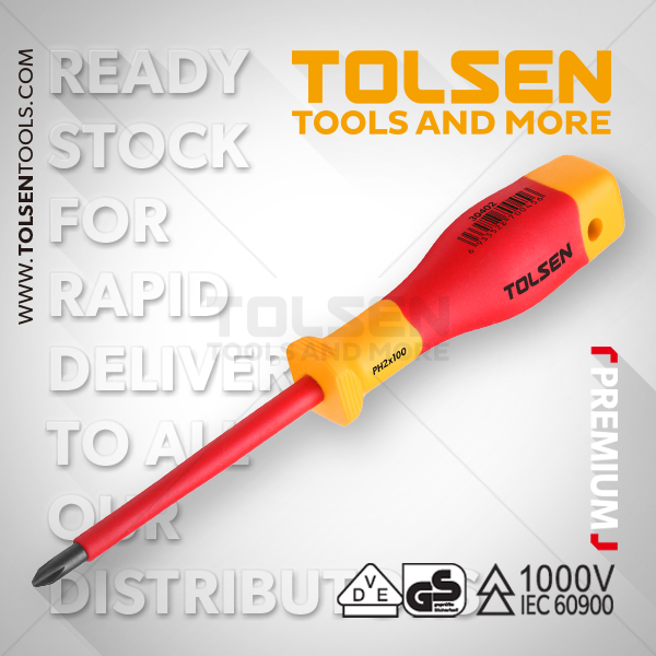 INSULATED PHILLIPS SCREWDRIVER