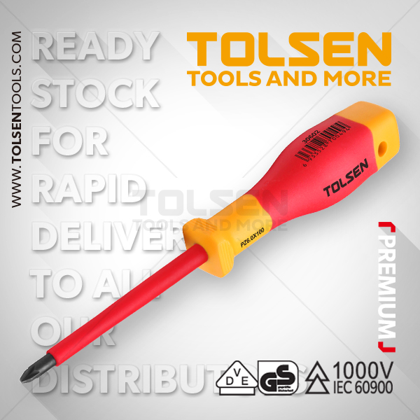 INSULATED POZI SCREWDRIVER