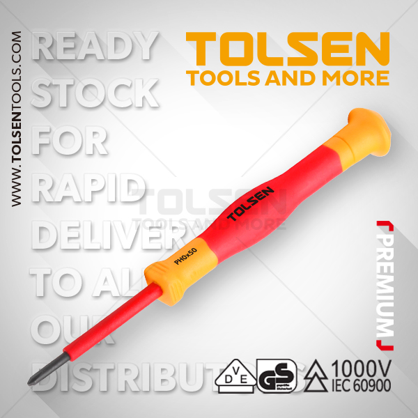 INSULATED PRECISION PHILLIPS SCREWDRIVER