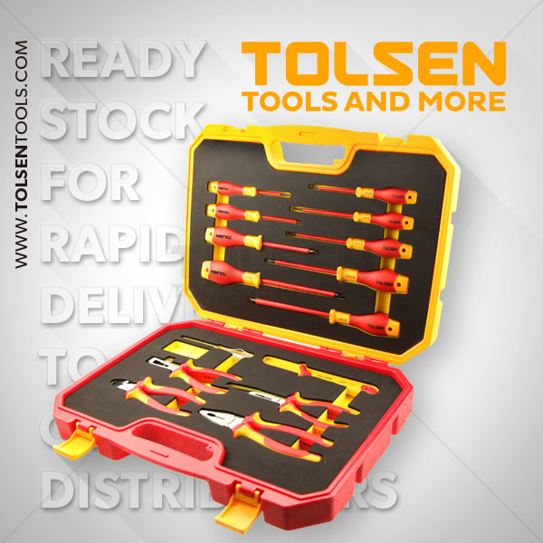 15PCS INSULATED HAND TOOLS SET