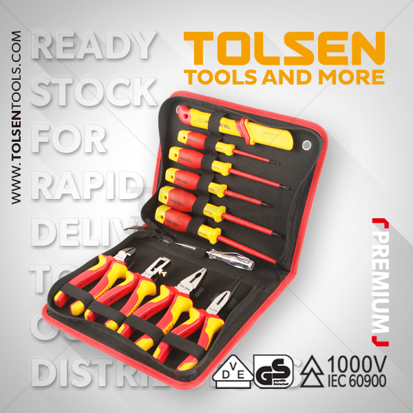11PCS INSULATED HAND TOOLS SET