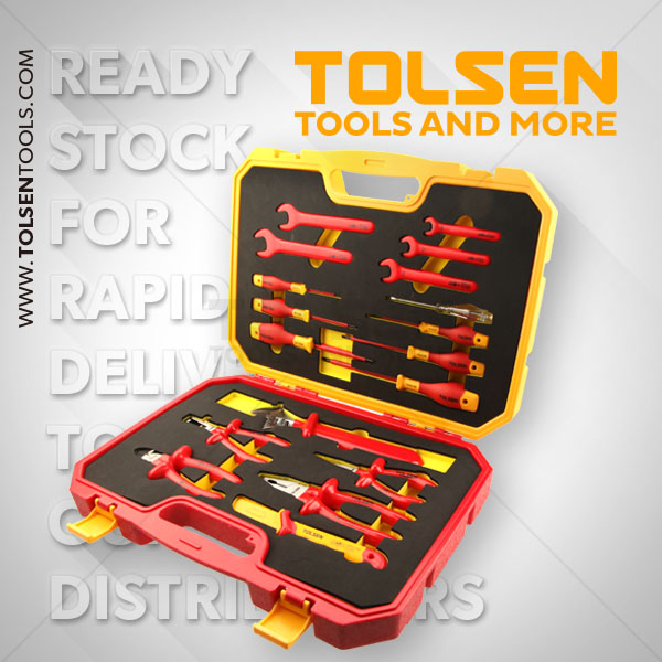 18PCS INSULATED HAND TOOLS SET