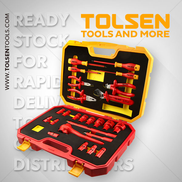 25PCS INSULATED HAND TOOLS SET