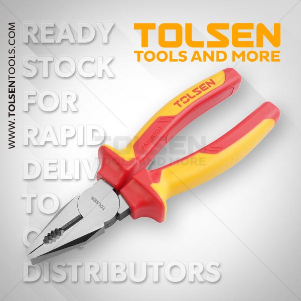 INSULATED COMBINATION PLIERS