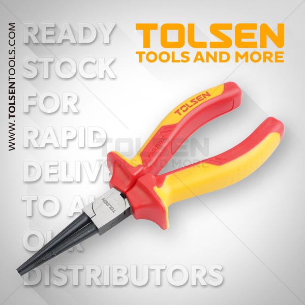 INSULATED ROUND NOSE PLIERS
