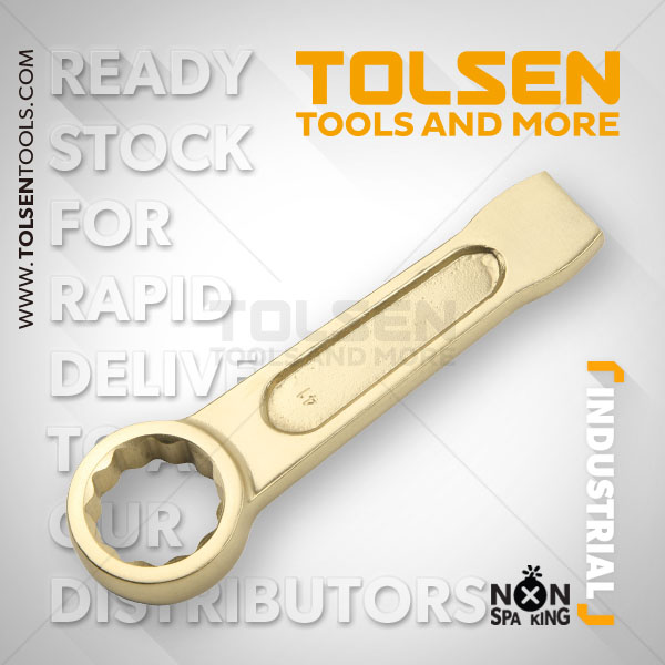 NON SPARKING 12 POINT RING SLOGGING WRENCH