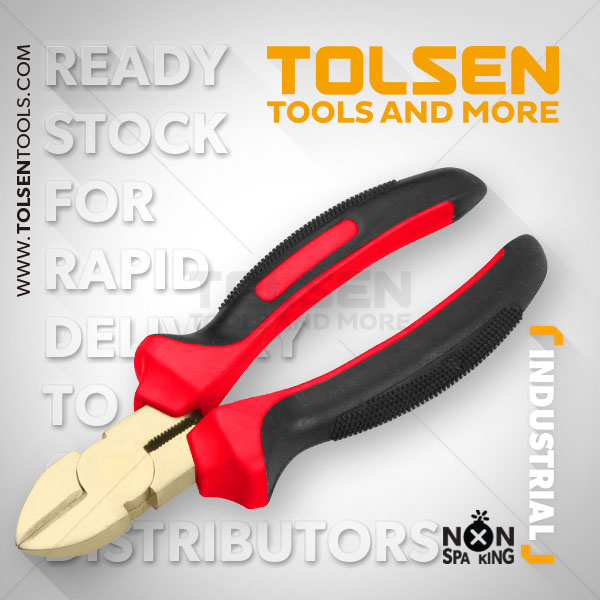 NON SPARKING DIAGONAL CUTTING PLIERS