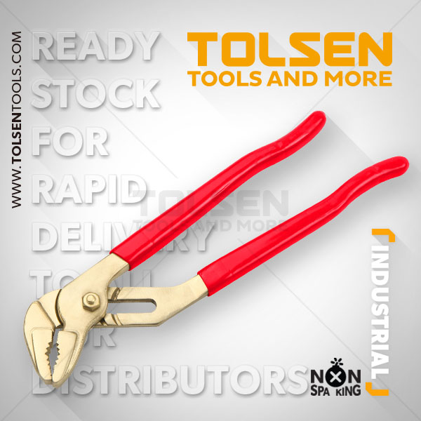 NON SPARKING SWEDISH 45° PIPE WRENCH