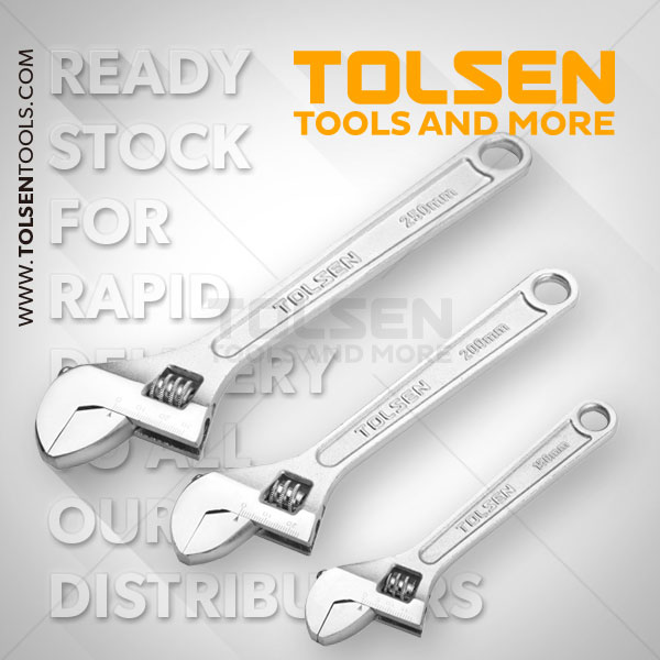 3PCS ADJUSTABLE WRENCHES SET