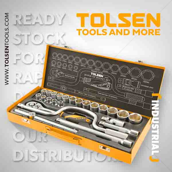 24PCS 1/2″ SOCKET SET