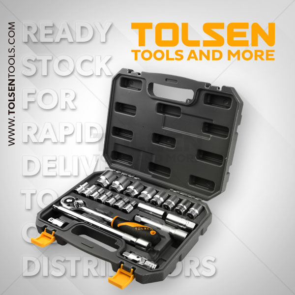 22PCS 1/2″ SOCKET SET