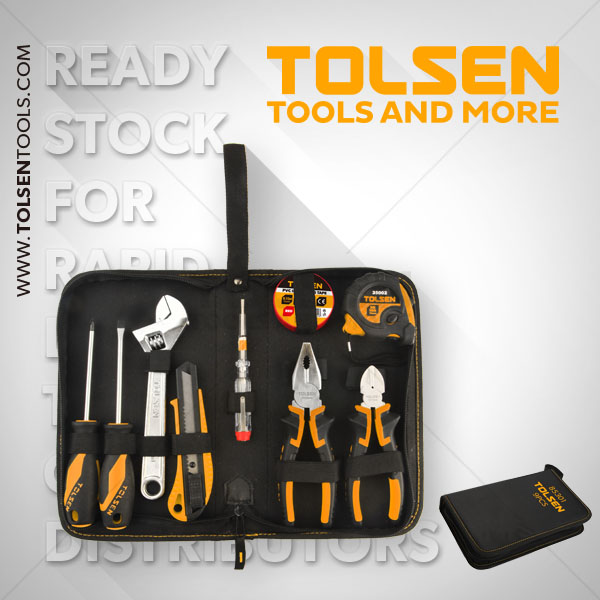 9PCS HAND TOOLS SET